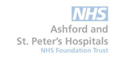 NHS Ashford and St Peters Hospital logo